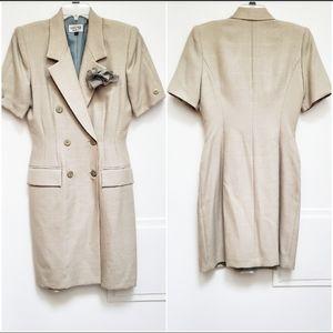 Vintage Kasper Coat Dress